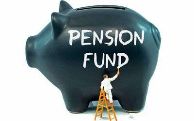 Pension fund| savings piggy bank